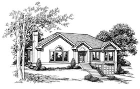 Plan Number 80146 - 1678 Square Feet