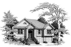 Traditional House Plan 80150 Elevation
