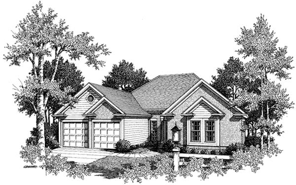 Traditional House Plan 80168 Elevation