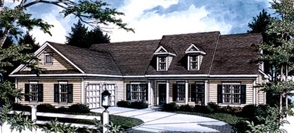 Country House Plan 80184 Elevation