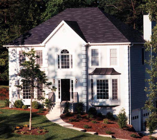 European House Plan 80186 Elevation