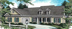Cottage House Plan 80188 Elevation