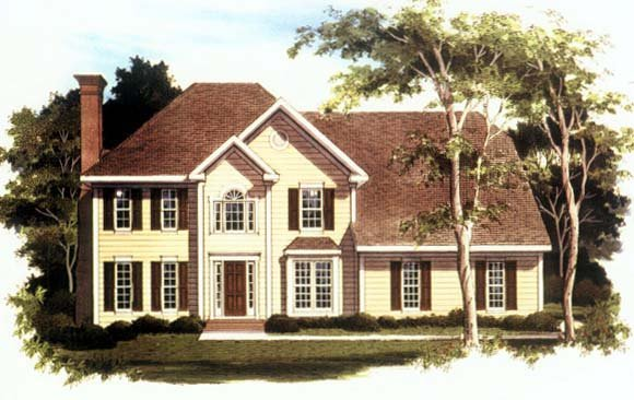 Traditional House Plan 80189 Elevation