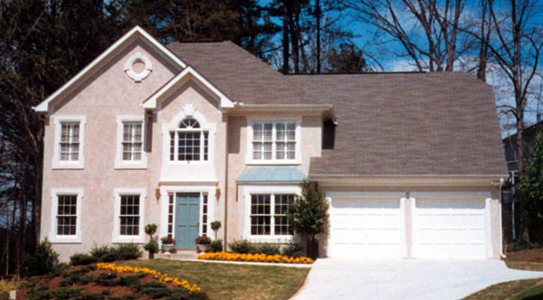 Traditional House Plan 80189 with 4 Beds, 3 Baths, 2 Car Garage Picture 3