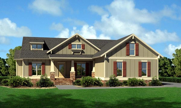 Cottage House Plan 80192 Elevation