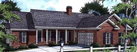 Traditional House Plan 80193 Elevation