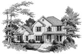 Plan Number 80194 - 2159 Square Feet
