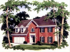 European House Plan 80200 Elevation