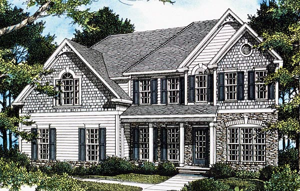 Southern House Plan 80204 Elevation