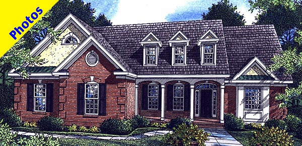 Traditional House Plan 80212 Elevation