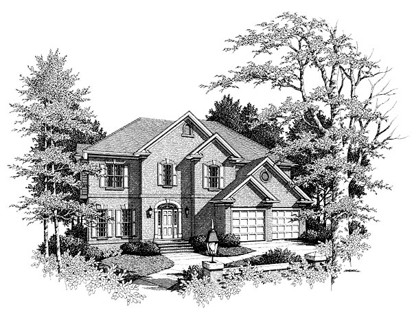 Traditional House Plan 80213 Elevation