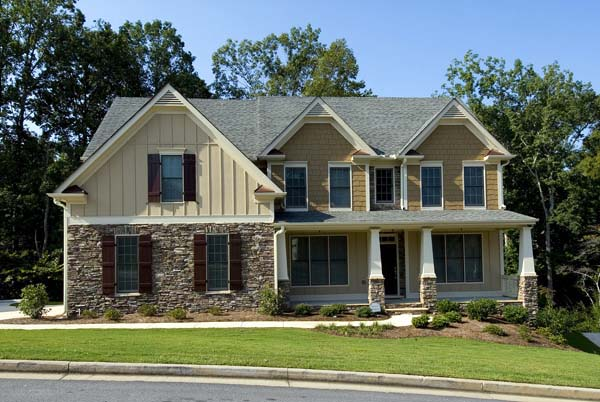 Cottage House Plan 80215 with 5 Beds, 3 Baths, 2 Car Garage Picture 1