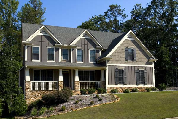Cottage House Plan 80215 with 5 Beds, 3 Baths, 2 Car Garage Picture 2