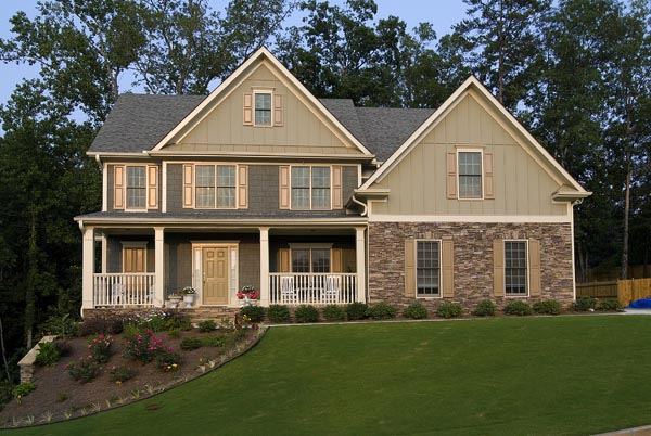 Farmhouse House Plan 80216 with 3 Beds, 3 Baths, 2 Car Garage Picture 12