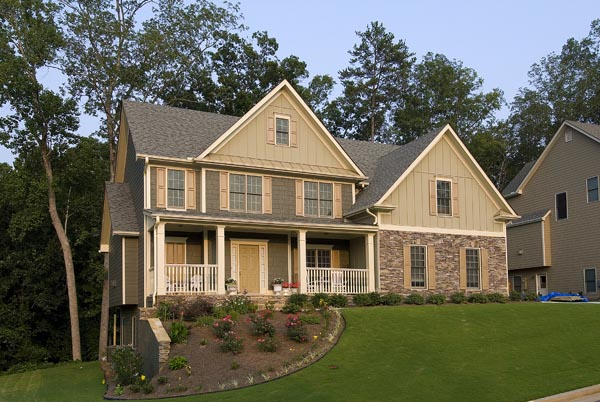Farmhouse House Plan 80216 with 3 Beds, 3 Baths, 2 Car Garage Picture 18