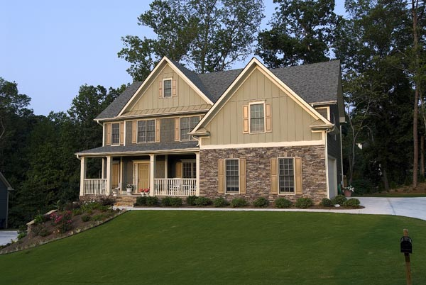 Farmhouse House Plan 80216 with 3 Beds, 3 Baths, 2 Car Garage Picture 20