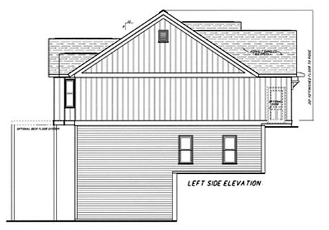 Cottage House Plan 80228 with 4 Beds, 3 Baths, 2 Car Garage Picture 1