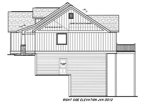 Cottage House Plan 80228 with 4 Beds, 3 Baths, 2 Car Garage Picture 2