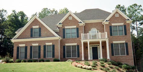 Colonial House Plan 80233 with 5 Beds, 4 Baths, 2 Car Garage Picture 9