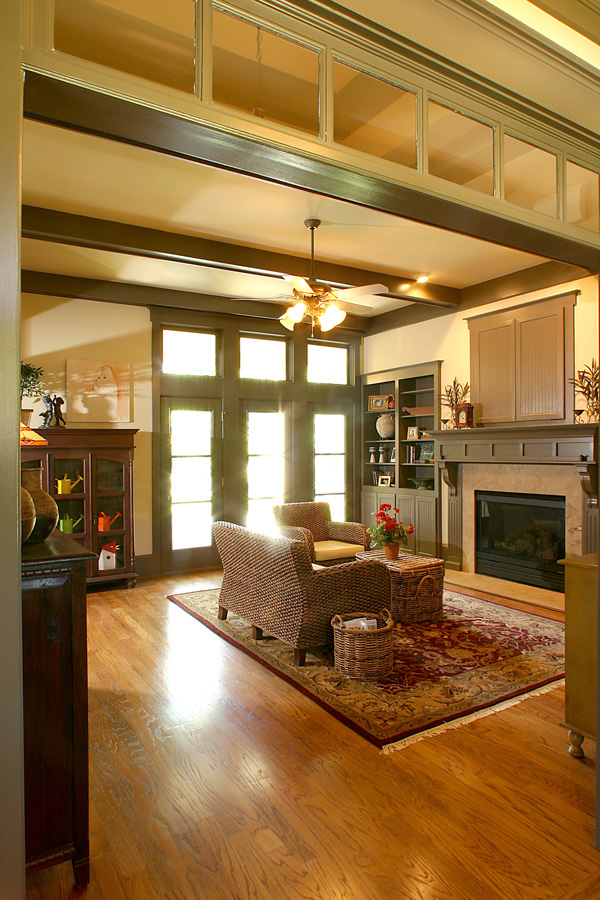 Cottage House Plan 80238 with 4 Beds, 4 Baths, 2 Car Garage Picture 2