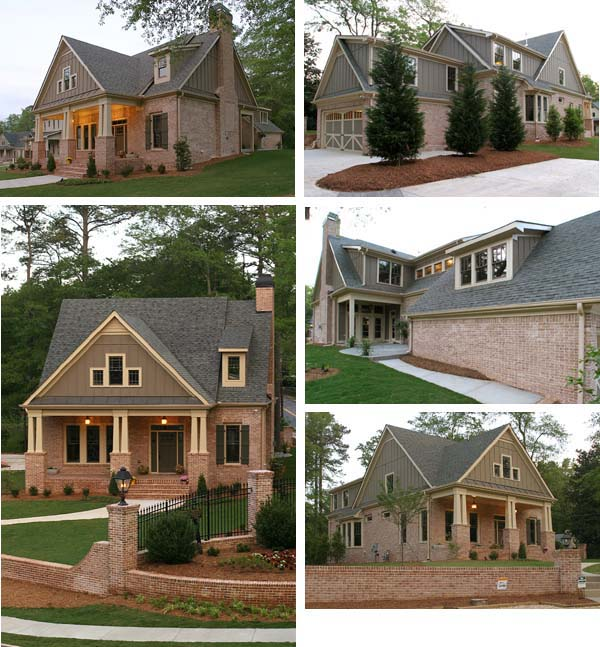 Cottage House Plan 80238 with 4 Beds, 4 Baths, 2 Car Garage Picture 3