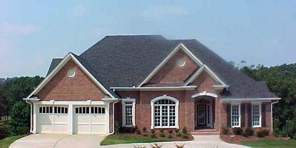 European House Plan 80241 with 3 Beds, 4 Baths, 2 Car Garage Picture 1