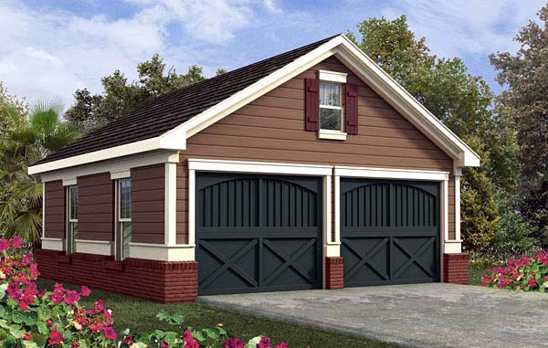 Garage Plan 80244 Elevation