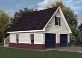 Garage Plan 80245