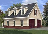 Plan Number 80246 - 551 Square Feet