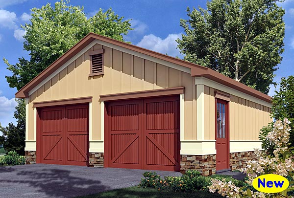 Garage Plan 80247