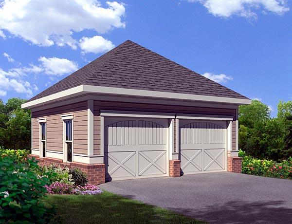 Garage Plan 80253