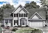 Plan Number 80316 - 2273 Square Feet