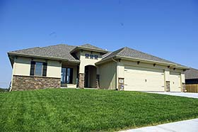 Tuscan House Plan 80401 with 3 Beds, 2 Baths, 3 Car Garage Elevation