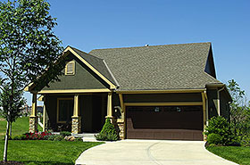 Cottage Country Craftsman House Plan 80404 Elevation
