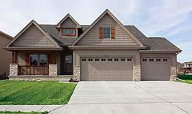Craftsman Traditional House Plan 80410 Elevation