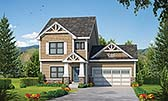 Plan Number 80420 - 1743 Square Feet