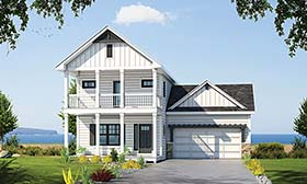 House Plan 80421
