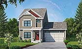 Plan Number 80422 - 1743 Square Feet