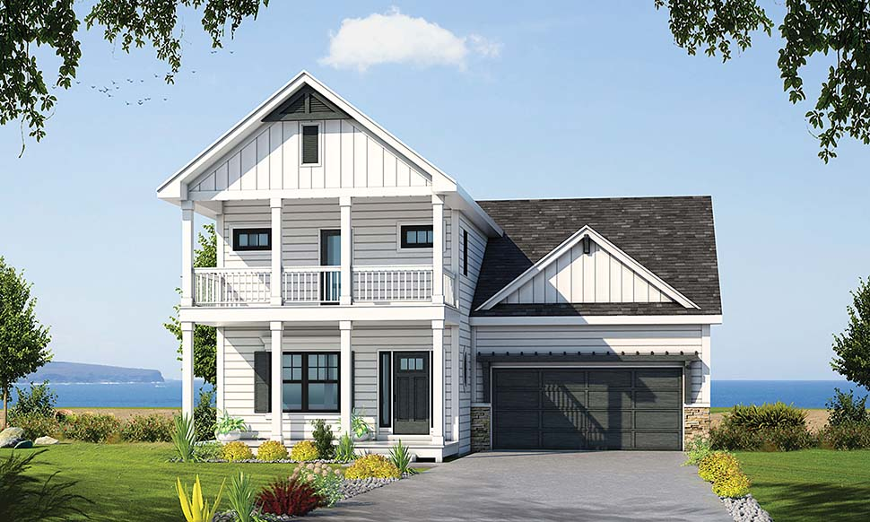 Colonial Country Southern House Plan 80429 Elevation