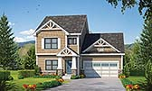 Plan Number 80430 - 2381 Square Feet