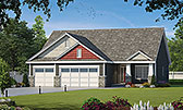 Plan Number 80437 - 1676 Square Feet