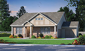 Plan Number 80442 - 2140 Square Feet