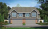 Plan Number 80445 - 4128 Square Feet