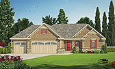 Plan Number 80450 - 1595 Square Feet