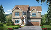 Plan Number 80458 - 2591 Square Feet