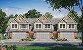 Plan Number 80460 - 6195 Square Feet