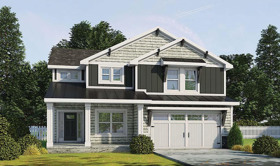 Craftsman House Plan 80463 Elevation