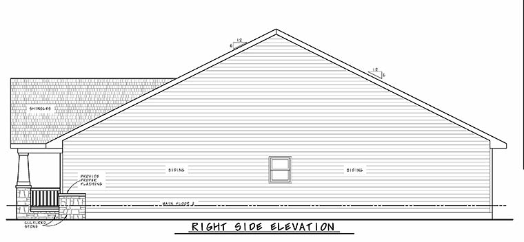 Craftsman House Plan 80470 with 3 Beds, 2 Baths, 2 Car Garage Picture 1