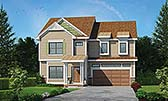 Plan Number 80471 - 2598 Square Feet