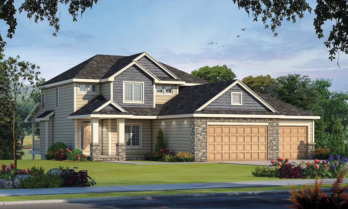 House Plan 80490